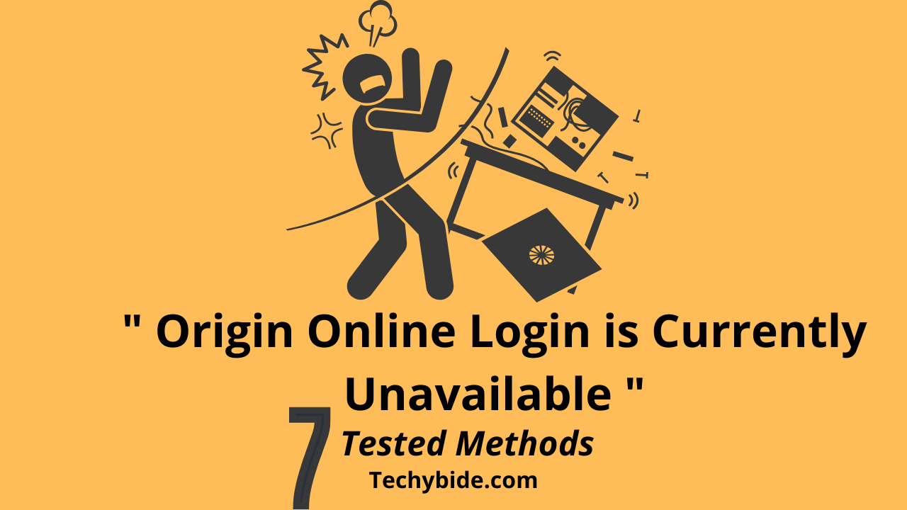 |7 Tested Methods | Origin Online Login is Currently Unavailable