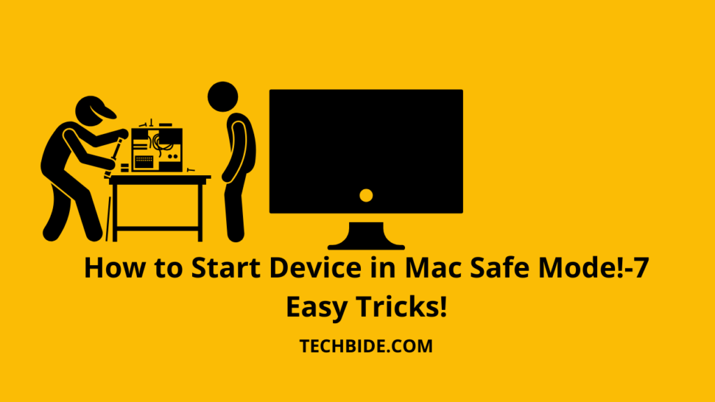 How to Start your Device in Mac Safe Mode |7 Easy Tricks|