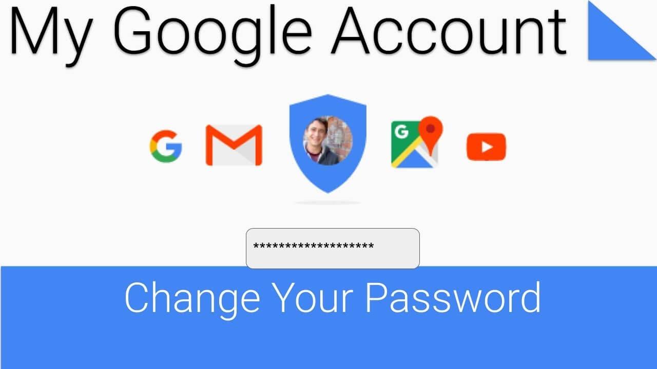 Change google account password