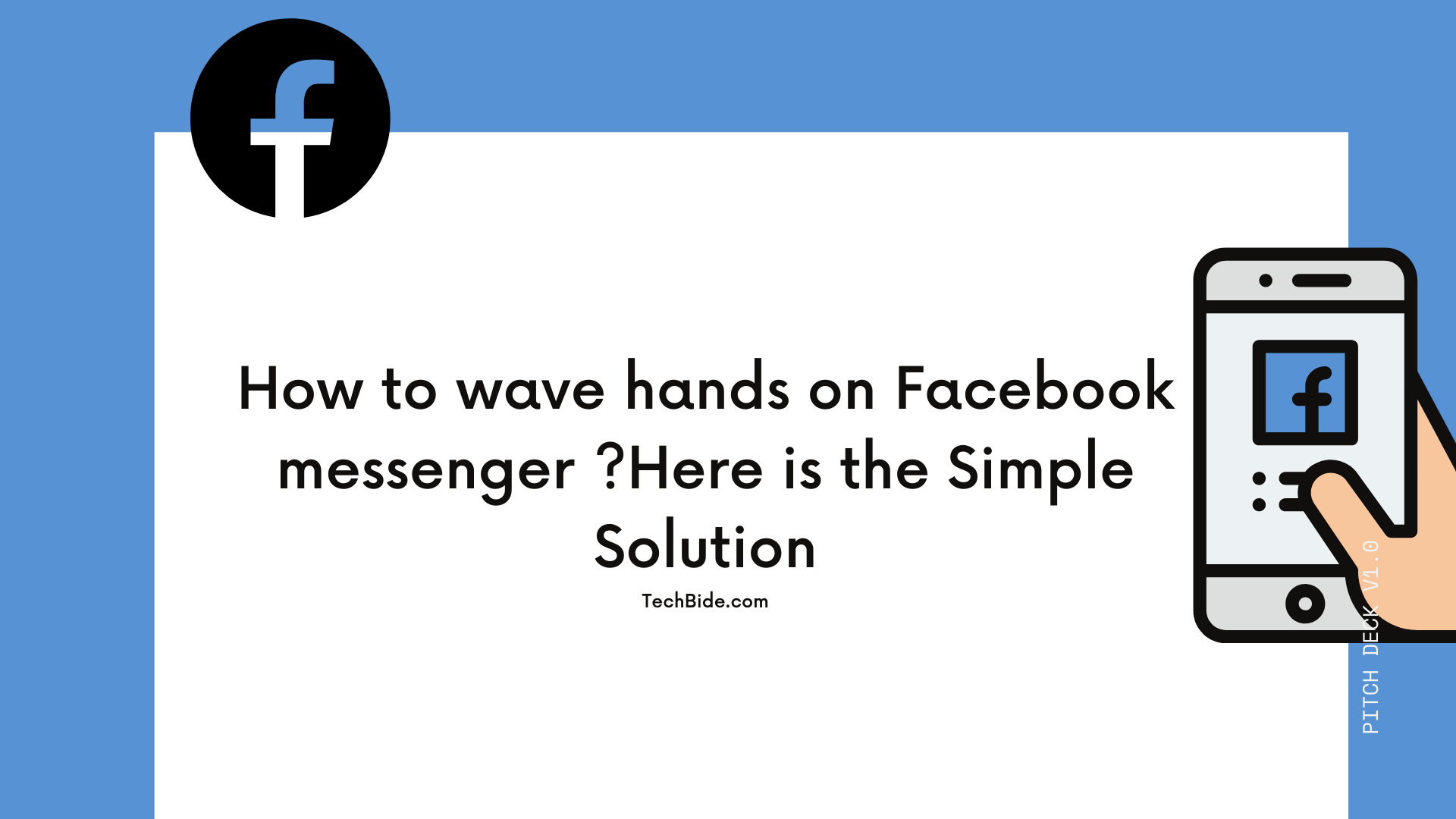 How to Wave Hands on Facebook Messenger ?Here is the Simple Solution