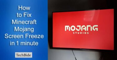 How to Fix Minecraft Mojang Screen Freeze