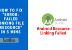 linking file resource