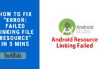 linking file resource