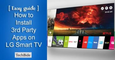 Install 3rd Party Apps on LG Smart TV