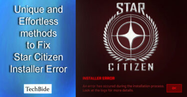 How to Fix Star Citizen Installer Error
