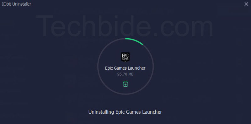 uninstall epic games launcher