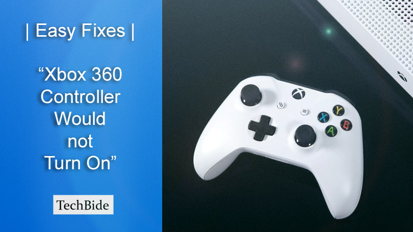 Easy Fixes | Xbox 360 Controller Would not Turn On