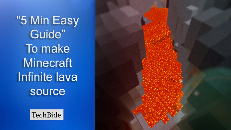 How to make Minecraft Infinite lava source | 5 Min Easy Guide