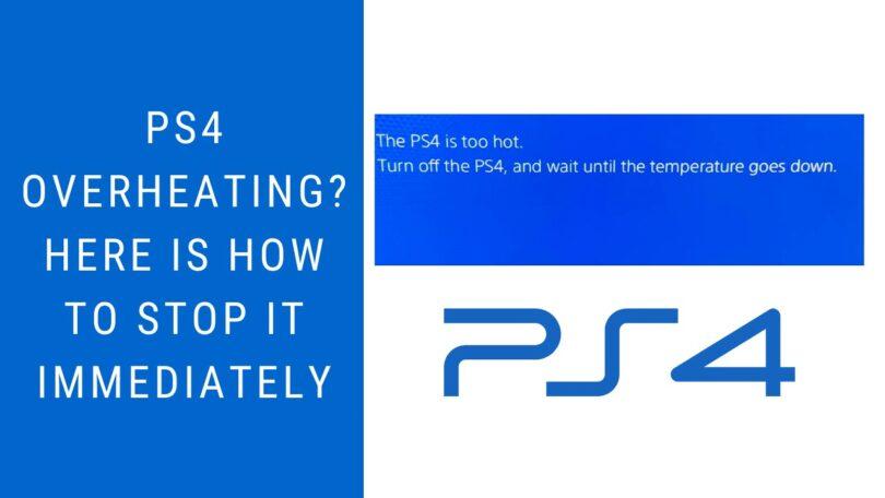 ps4 overheating