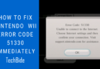 How to Fix Nintendo Wii Error Code 51330 Immediately
