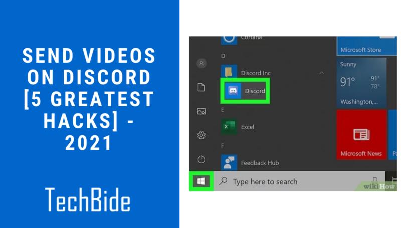 Send Videos on Discord