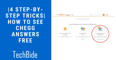 |4 Step-by-Step tricks| How To See Chegg Answers Free