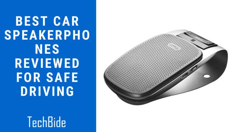 Best Car Speakerphones Reviewed For Safe Driving