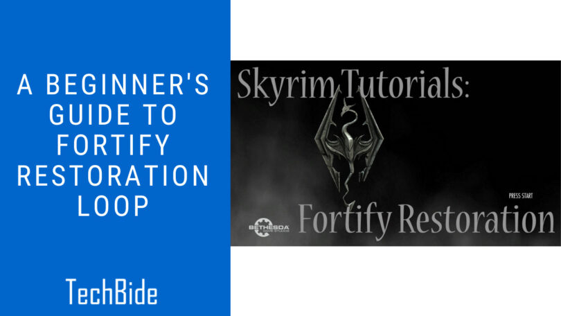 A Beginner's Guide to Fortify Restoration Loop